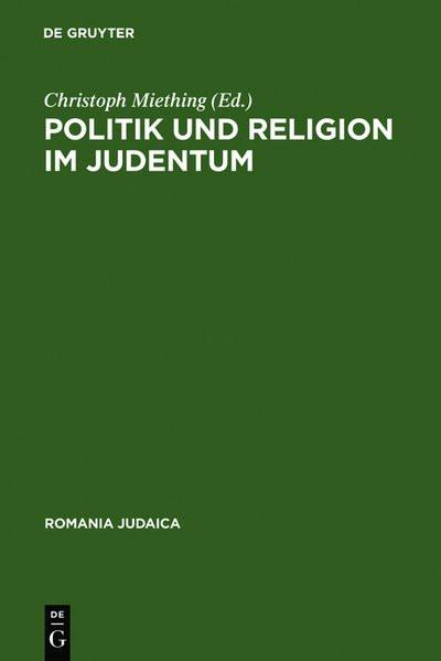 Politik und Religion im Judentum
