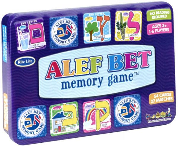 """Memory Game """"Alef Bet"""" mit 72 Karten"""