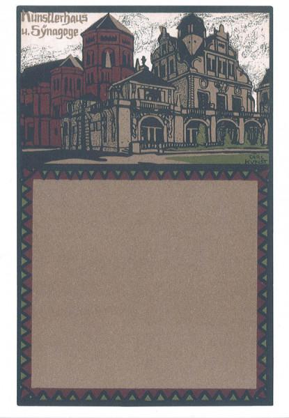 Karte JM Künstlerhaus und Synagoge in München