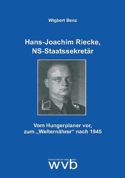 Hans-Joachim Riecke, NS-Staatssekretär