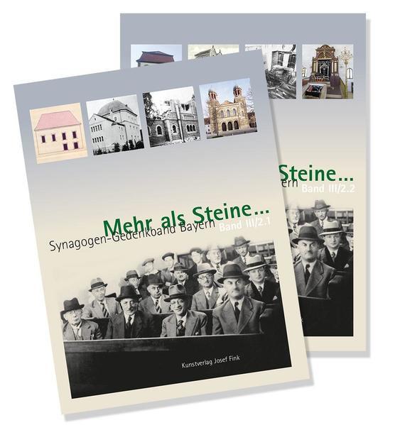 Mehr als Steine ... Synagogen-Gedenkband Bayern