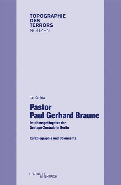 Pastor Paul Gerhard Braune