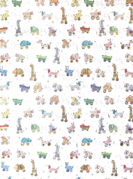 Geschenkpapier - Baby Animals