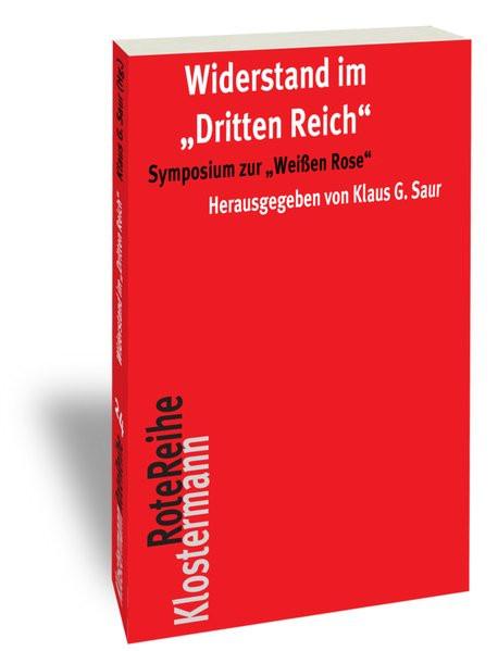 """Widerstand im """"Dritten Reich"""""""