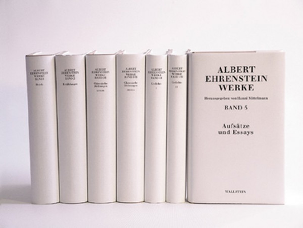 Werke: 1: Briefe, 535 S.; 2: Erzählungen, 511 S.; 3/I u. 3/II: Chinesische Dichtungen, 2 Bde., 1036