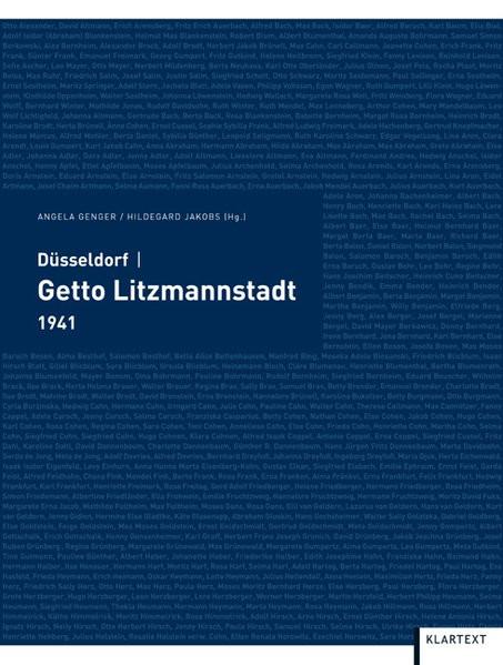 Düsseldorf - Getto Litzmannstadt. 1941
