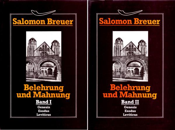 Belehrung und Mahnung 2 Bde.