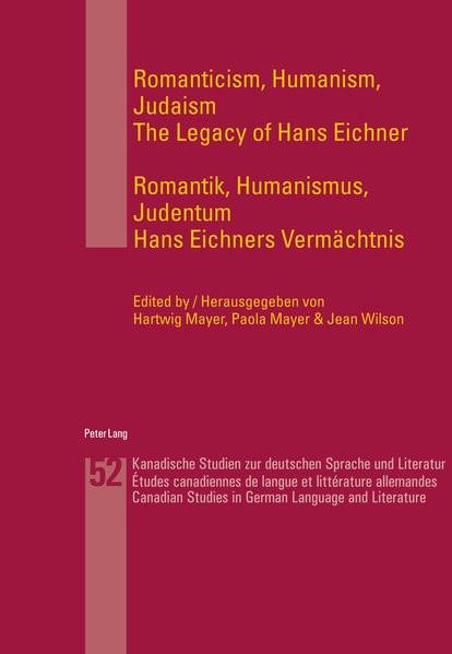 Romanticism, Humanism, Judaism. Romantik, Humanismus, Judentum