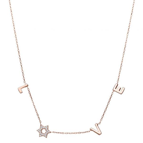 Halskette *Love* vergoldet