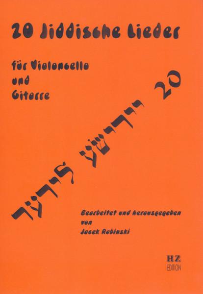 20 Jiddische Lieder für Violoncello und Gitarre