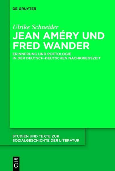 Jean Améry und Fred Wander