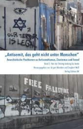 Antisemit, das geht nicht unter Menschen. Bd. 2