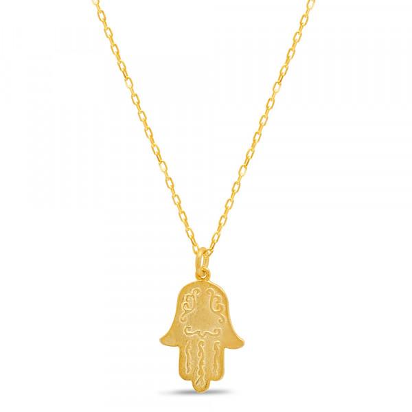 Halskette *Chamsa* vergoldet