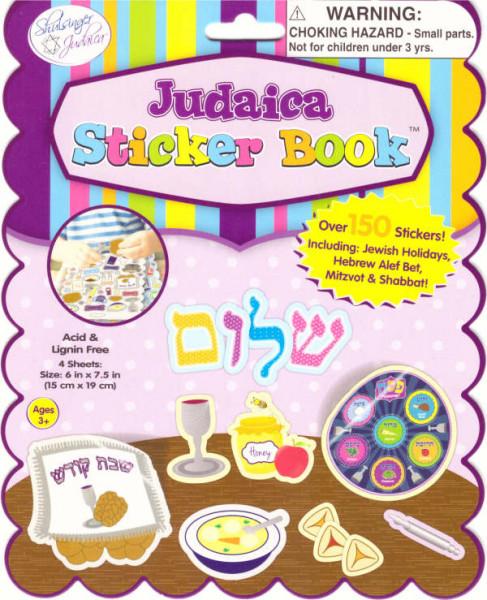 Stickerbuch *Judaica* (4 Bögen) 15x19cm
