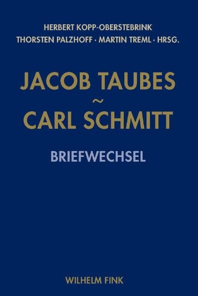 Carl Schmitt - Jacob Taubes
