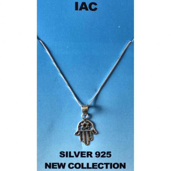 Halskette *Chamsa & Stern* Silber 925