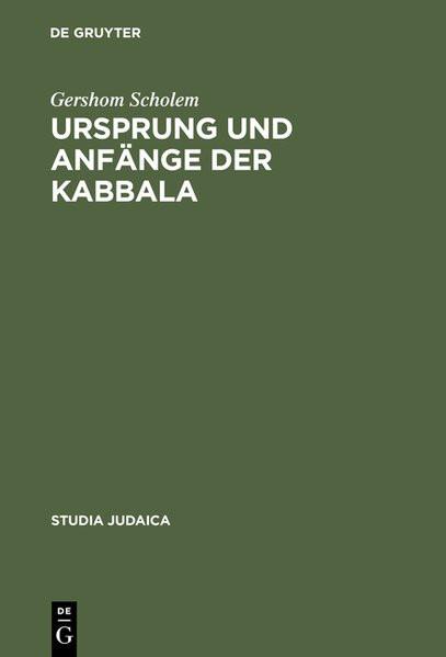 Ursprung und Anfänge der Kabbala