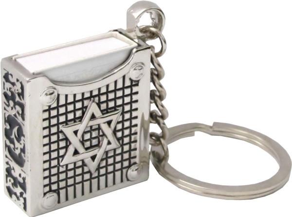 Schlüsselanhänger Tehillim, Magen David
