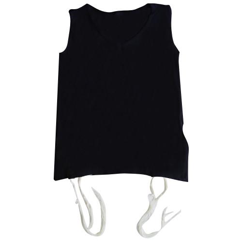 Tallit katan T-Shirt aus Baumwolle schwarz
