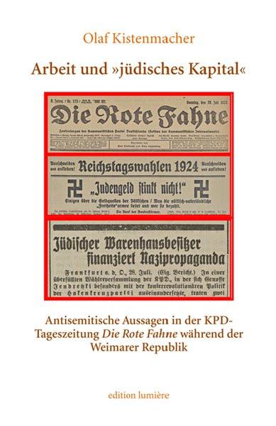 """Arbeit und """"jüdisches Kapital"""""""