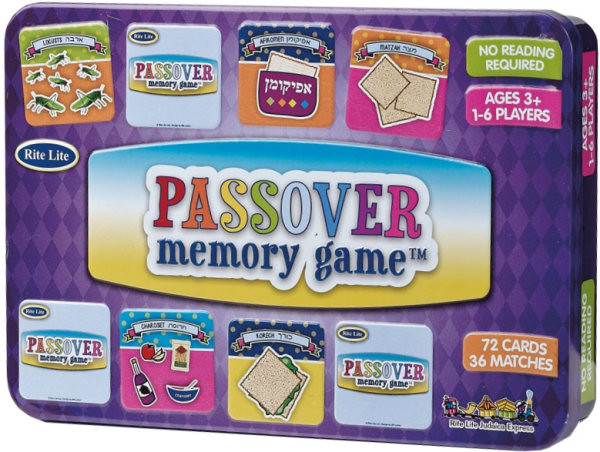 "Memory Game ""Passover"" mit 72 Karten"