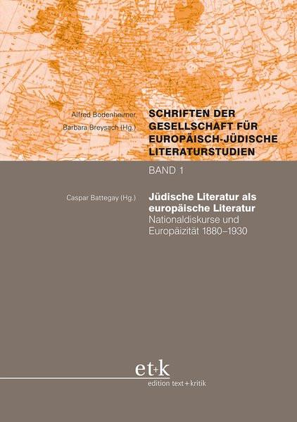 Jüdische Literatur als europäische Literatur