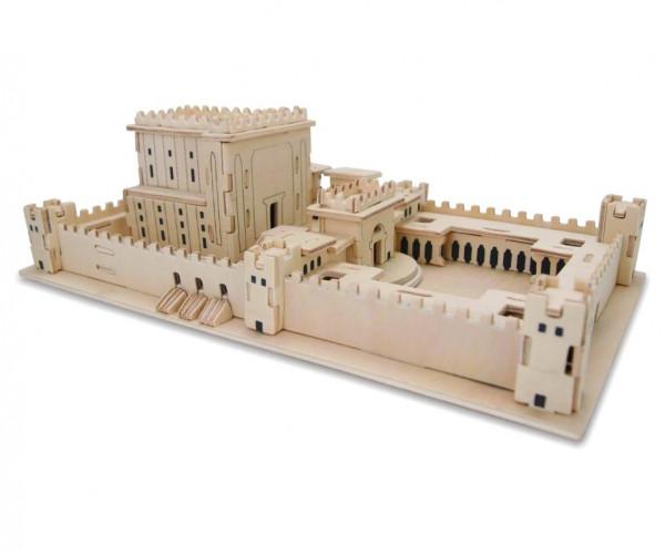 3D-Puzzle *Tempel in Jerusalem* Holz 26x15x10cm