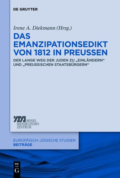Das Emanzipationsedikt von 1812 in Preussen