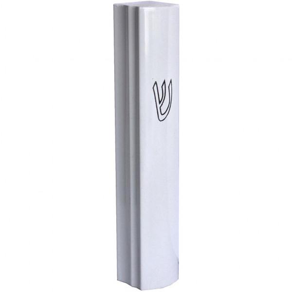 Mesusa weiss Aluminium 9cm