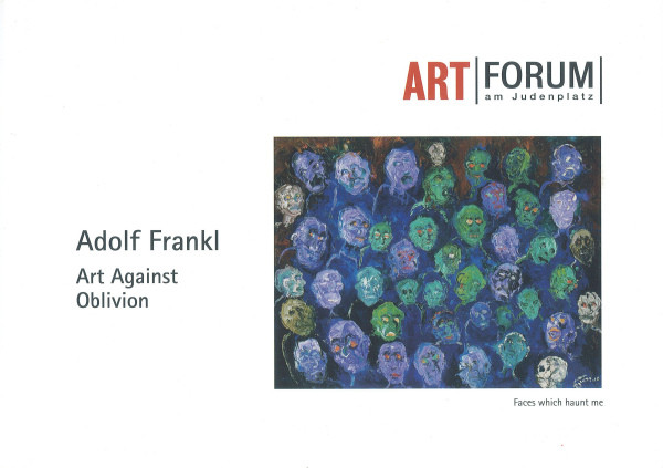 Adolf Frankl - Art Against Oblivion