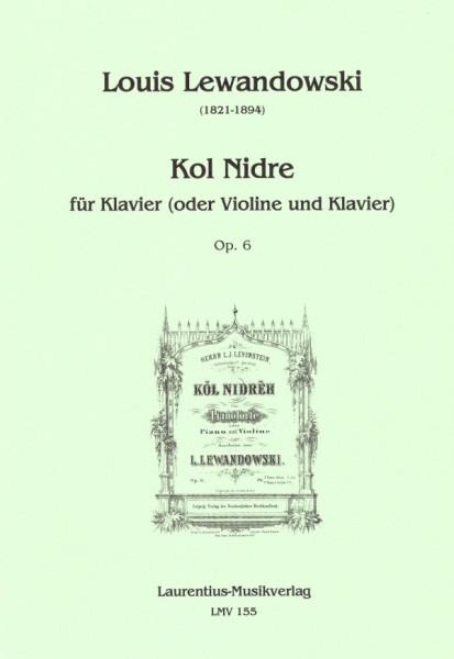 Kol Nidre für Klavier (oder Violine und Klavier)