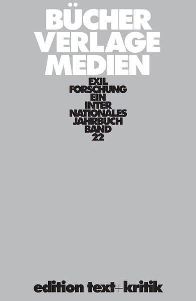 Ein internationales Jahrbuch. Bücher, Verlage, Medien