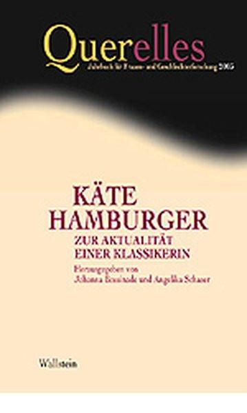 Käte Hamburger - Zur Aktualität einer Klassikerin