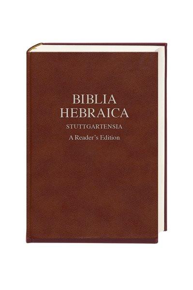 Biblia Hebraica Stuttgartensia. A Reader's Edition