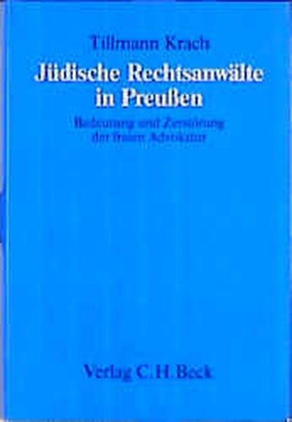 Jüdische Rechtsanwälte in Preußen