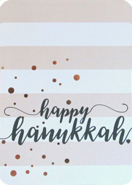 Happy Hanukkah Dots