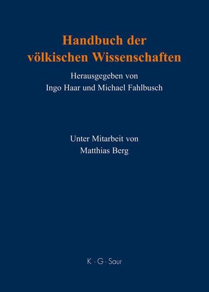 Handbuch der völkischen Wissenschaften