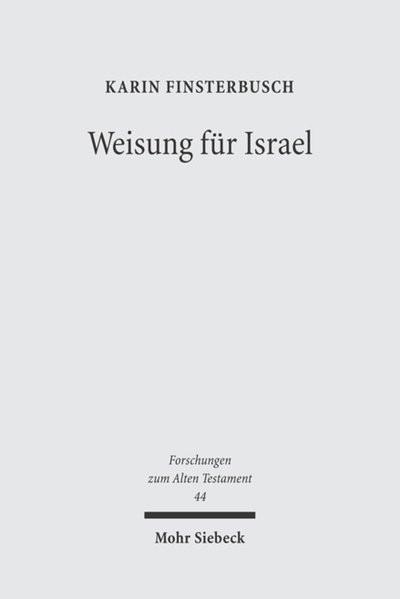 Weisung für Israel