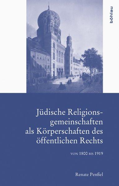 Jüdische Religionsgemeinschaften als Körperschaften des öffentlichen Rechts