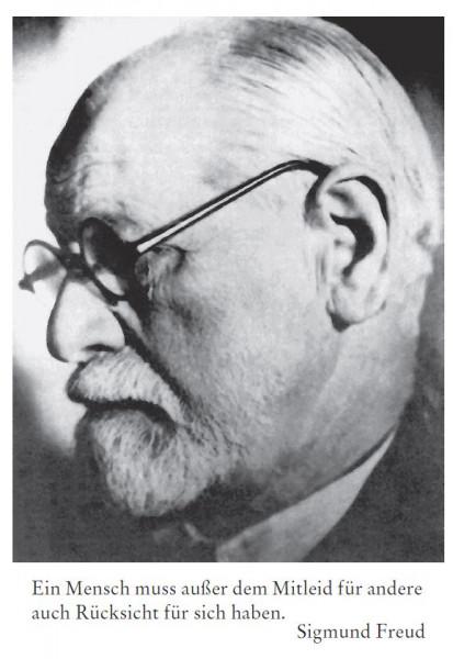 Sigmund Freud (1856 Freiberg/Mähren - 1939 London)