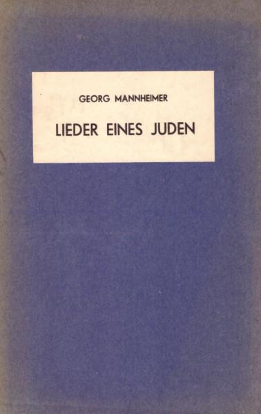 Lieder eines Juden