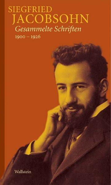 Gesammelte Schriften 1900-1925