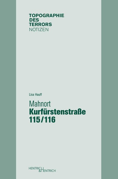 Mahnort Kurfürstenstraße 115/116