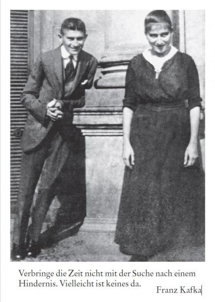 Franz Kafka mit Schwester Ottla