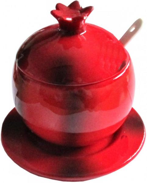 "Honigtopf Keramik ""Rosh HaShana"" 11cm"