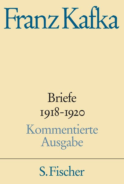 Briefe IV. 1918-1920