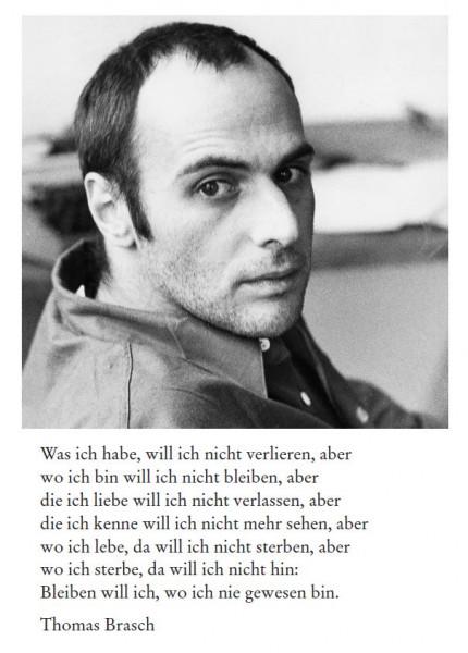 Thomas Brasch (1945-2001)