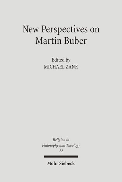 New Perspectives on Martin Buber