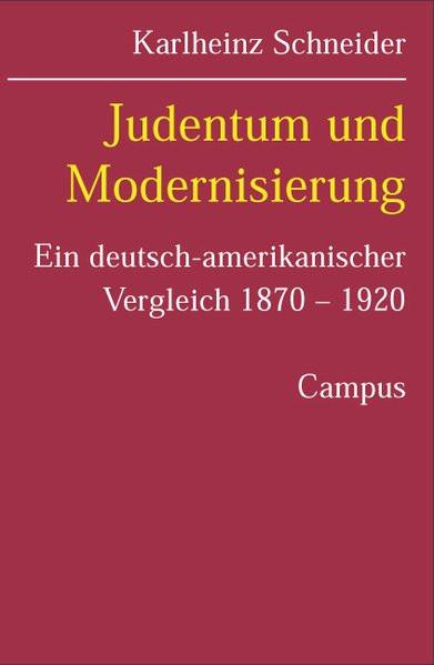 Judentum und Modernisierung