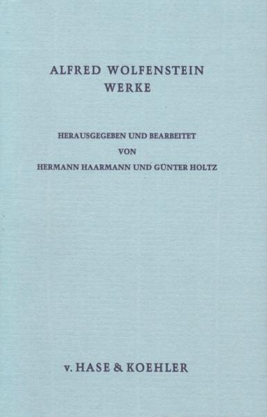 Alfred Wolfenstein Werke, Bd. 2: Frank